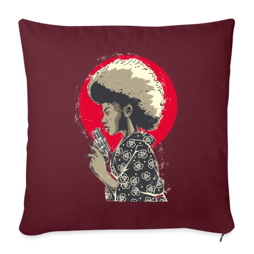 Afro Gun - Copricuscino per divano, 45 x 45 cm