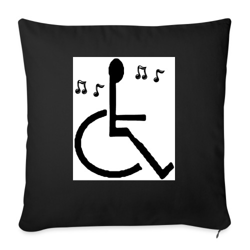 Musical Chairs - Sofa pillowcase 17,3'' x 17,3'' (45 x 45 cm)