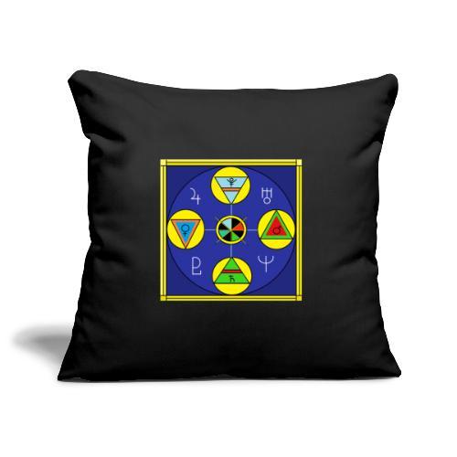 Schema Elementi3 - Copricuscino per divano, 45 x 45 cm