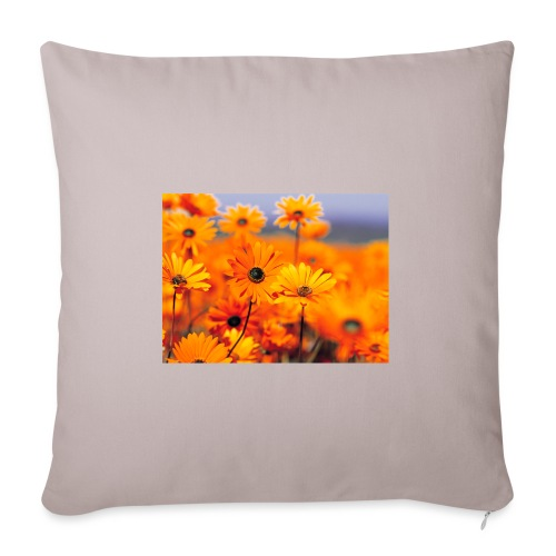 Flower Power - Sofa pillowcase 17,3'' x 17,3'' (45 x 45 cm)