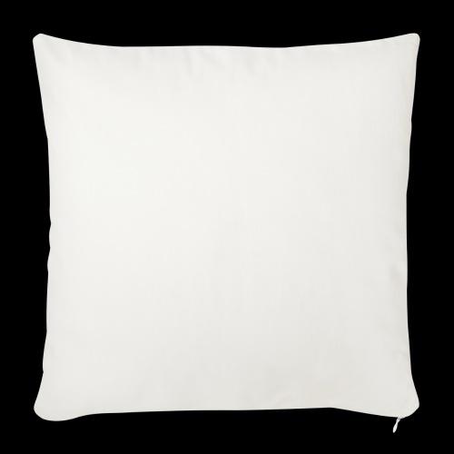 Pinque AEM Bianco - Copricuscino per divano, 45 x 45 cm
