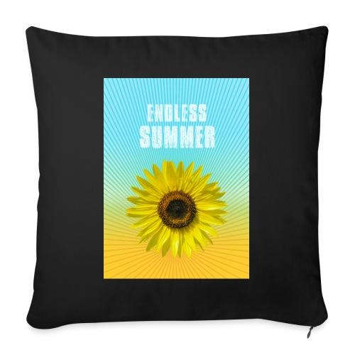 sunflower endless summer Sonnenblume Sommer - Sofa pillowcase 17,3'' x 17,3'' (45 x 45 cm)