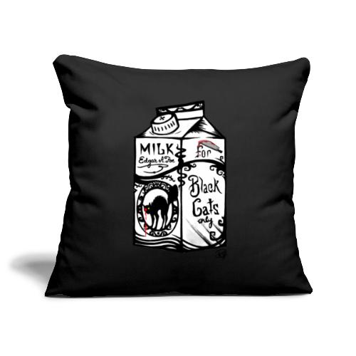 Il Latte di Edgar Allan Poe! - Copricuscino per divano, 45 x 45 cm