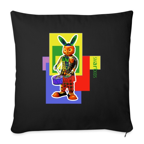 smARTkids - Slammin' Rabbit - Sofa pillowcase 17,3'' x 17,3'' (45 x 45 cm)
