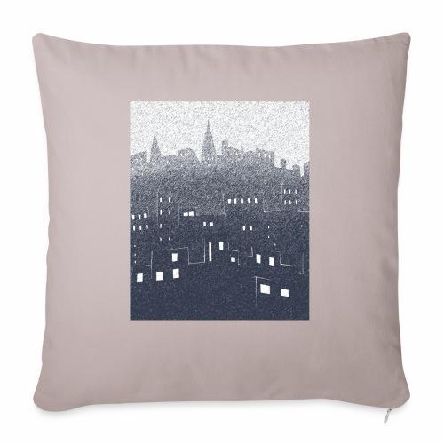 citysnow rectangle - Housse de coussin décorative 45x 45cm