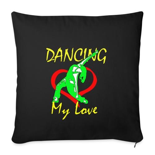Dancing my Love - Sofakissenbezug 44 x 44 cm