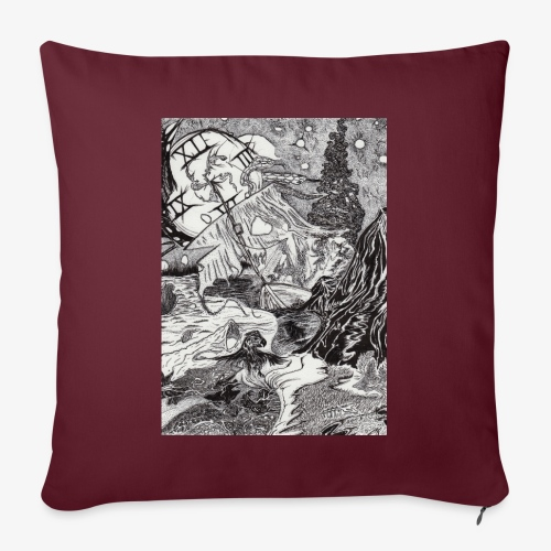 Pandora'sTwilight by Rivinoya - Sohvatyynyn päällinen 45 x 45 cm