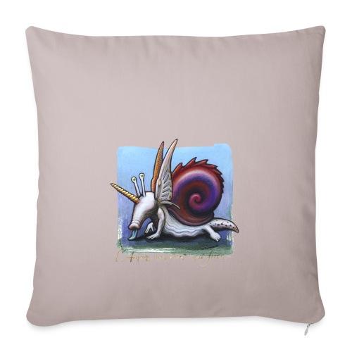 Unichiocciolo - Copricuscino per divano, 45 x 45 cm