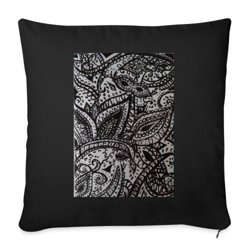 henna - Sofa pillowcase 17,3'' x 17,3'' (45 x 45 cm)