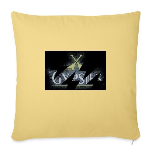 GYPSIES BAND LOGO - Sofa pillowcase 17,3'' x 17,3'' (45 x 45 cm)