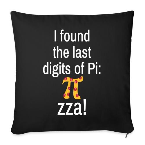 Last Digits Zahl Pi Pizza Mathe Nerd - Sofakissenbezug 44 x 44 cm