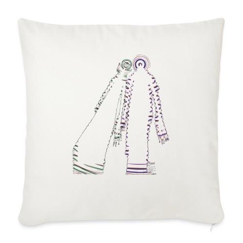 fatal charm - hi logo - Sofa pillowcase 17,3'' x 17,3'' (45 x 45 cm)