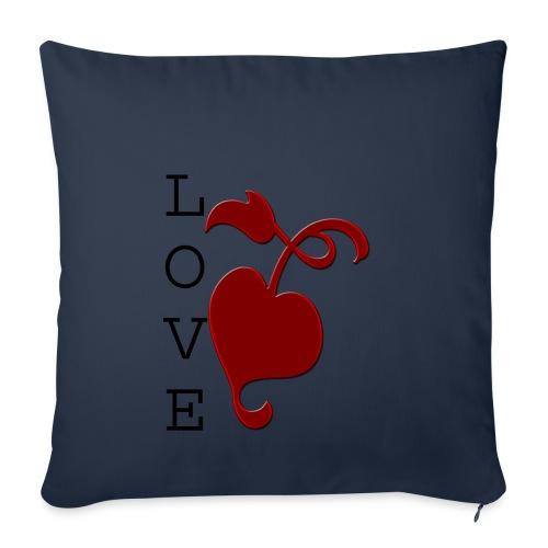 Love Grows - Sofa pillowcase 17,3'' x 17,3'' (45 x 45 cm)