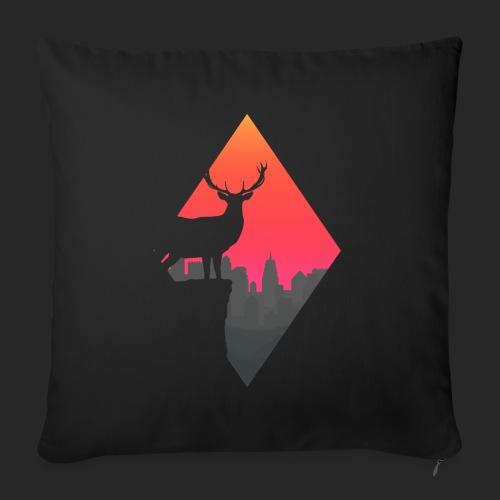 Sunset Deer - Sofa pillowcase 17,3'' x 17,3'' (45 x 45 cm)