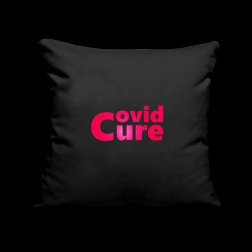 Covid Cure [IMPACT COLLECTION] - Sofa pillowcase 17,3'' x 17,3'' (45 x 45 cm)