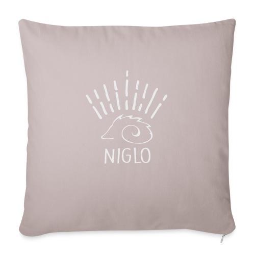 niglo king gris hérisson - Housse de coussin décorative 45x 45cm