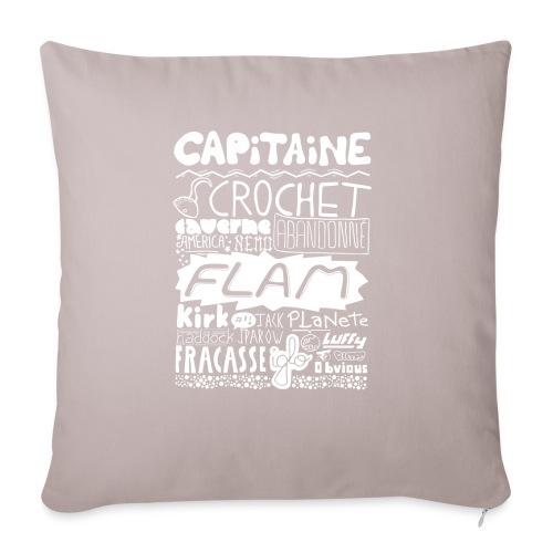 capitaine-blanc Tee shirts - Housse de coussin décorative 45x 45cm
