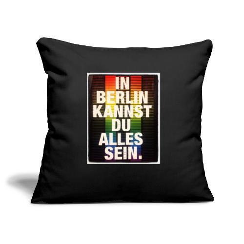 City of Freedom Berl!n - Sofa pillowcase 17,3'' x 17,3'' (45 x 45 cm)