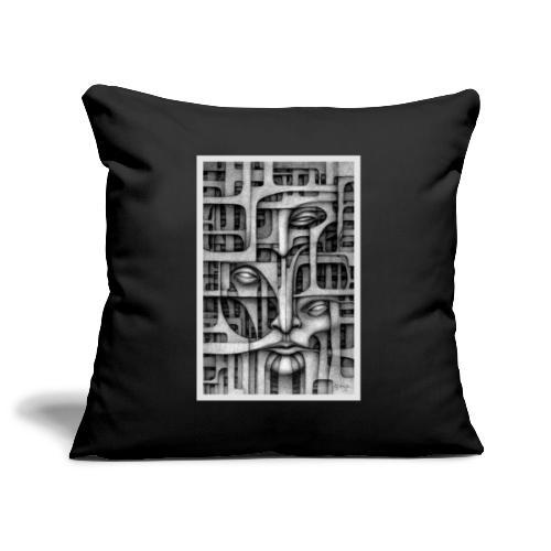 Personalities - Personalità Diverse - Copricuscino per divano, 45 x 45 cm