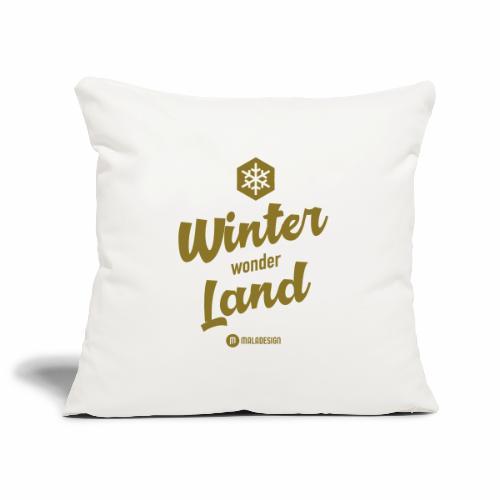 Winter Wonder Land - Sohvatyynyn päällinen 45 x 45 cm