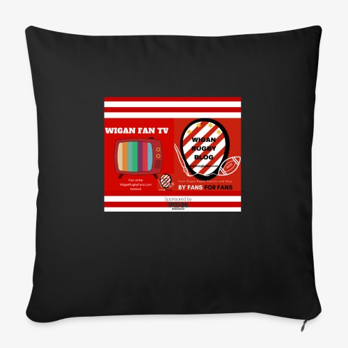 Sponsored by Logo - Sofa pillowcase 17,3'' x 17,3'' (45 x 45 cm)