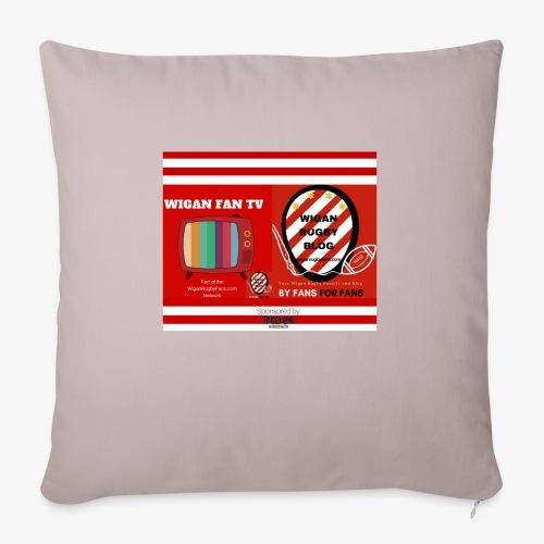 Sponsored by Logo - Sofa pillowcase 17,3'' x 17,3'' (45 x 45 cm)