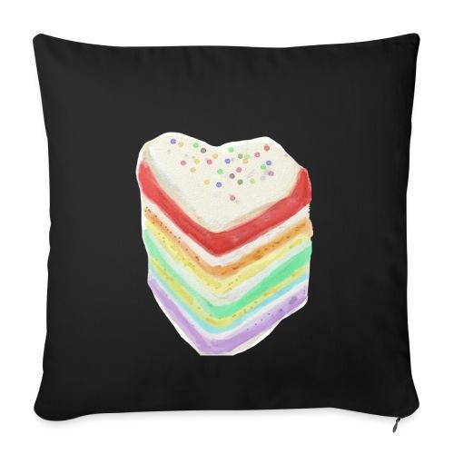 Multicolor Cake 1 - Sofa pillowcase 17,3'' x 17,3'' (45 x 45 cm)