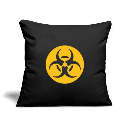 Biohazard - Sofa pillowcase 17,3'' x 17,3'' (45 x 45 cm)