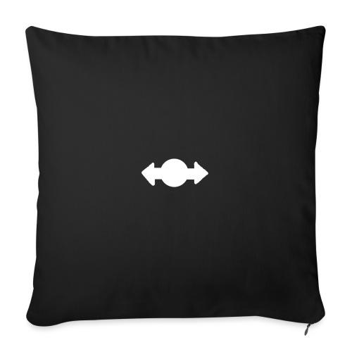 TeeVex Logo - Sofa pillowcase 17,3'' x 17,3'' (45 x 45 cm)