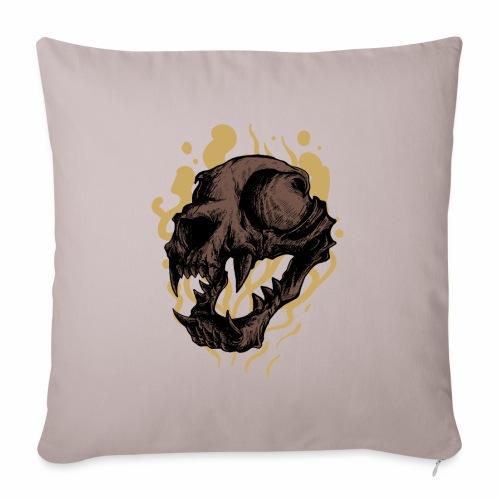 Cat Skull - Sohvatyynyn päällinen 45 x 45 cm