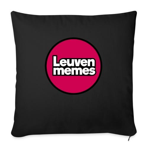 Logo LeuvenMemes - Housse de coussin décorative 45x 45cm