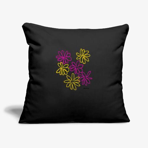 Kukat - Sohvatyynyn päällinen 45 x 45 cm