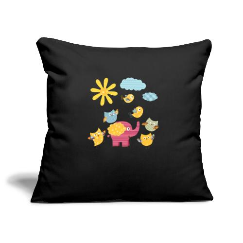 Secret Garden - Sofa pillowcase 17,3'' x 17,3'' (45 x 45 cm)