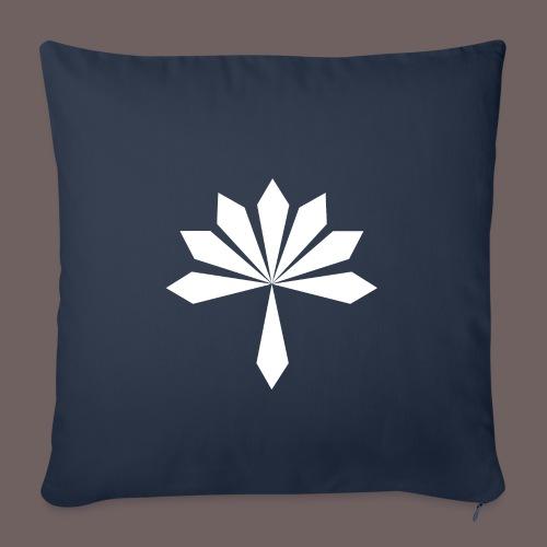 GBIGBO zjebeezjeboo - Rock - Fleur - Housse de coussin décorative 45x 45cm