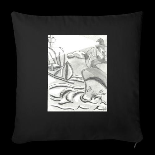 abstrack - Funda de cojín, 45 x 45 cm