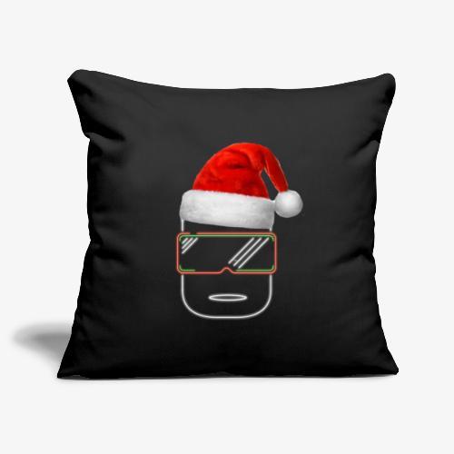 Die Zock Stube - Robot-Head Christmas - Sofakissenbezug 44 x 44 cm
