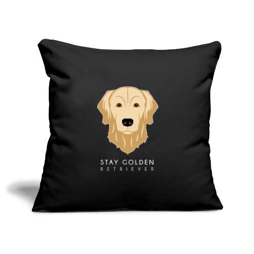 Golden Retriever - Copricuscino per divano, 45 x 45 cm
