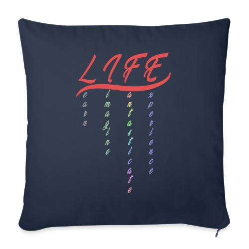 Life - Copricuscino per divano, 45 x 45 cm