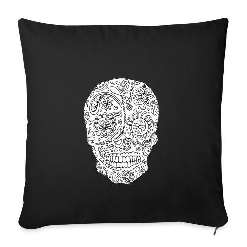 Sugar Skull - Housse de coussin décorative 45x 45cm