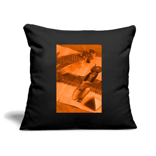 Iside e Horus - Copricuscino per divano, 45 x 45 cm