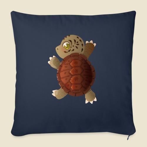 Bébé tortue - Housse de coussin décorative 45x 45cm