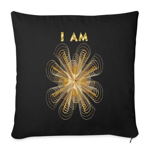 I AM - Copricuscino per divano, 45 x 45 cm