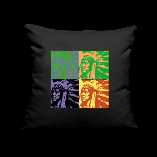POP ART AMERINDIEN - Housse de coussin décorative 45x 45cm