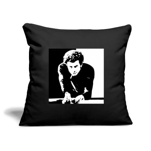 arte del biliardo bianco e nero roma - Copricuscino per divano, 45 x 45 cm
