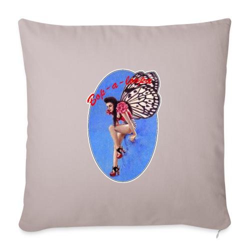 Vintage Rockabilly Butterfly Pin-up Design - Sofa pillowcase 17,3'' x 17,3'' (45 x 45 cm)