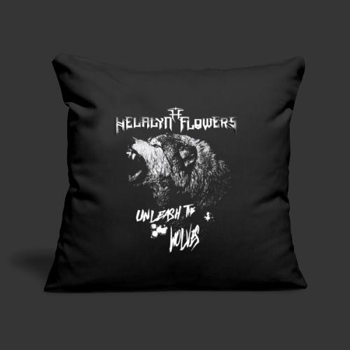 unleash the wolves - Sofa pillowcase 17,3'' x 17,3'' (45 x 45 cm)