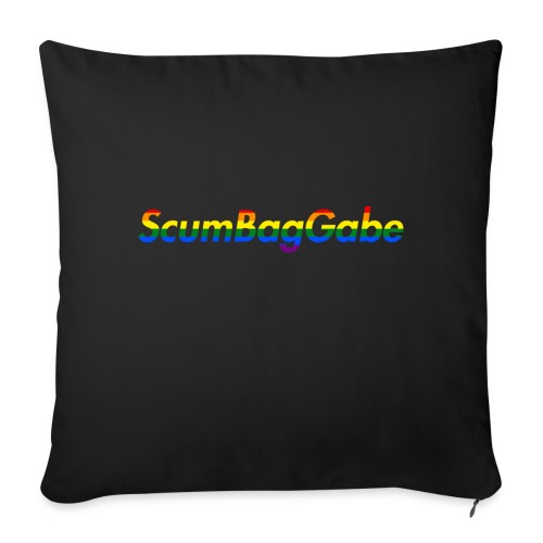 ScumBagGabe Multi Logo XL - Sofa pillowcase 17,3'' x 17,3'' (45 x 45 cm)