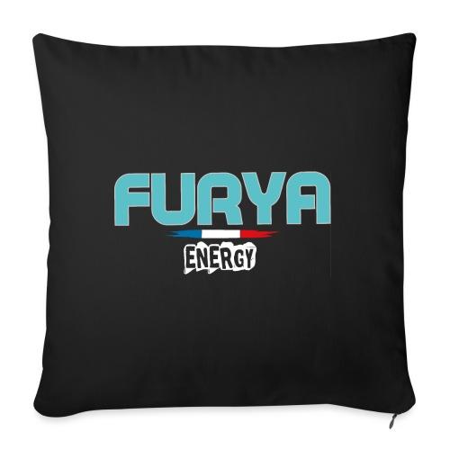 Furya 2021 White - Housse de coussin décorative 45x 45cm