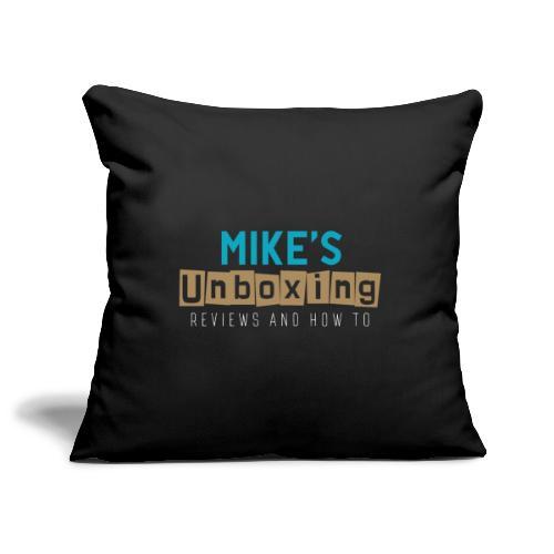 Mikesunboxing Classic Logo - Sofa pillowcase 17,3'' x 17,3'' (45 x 45 cm)