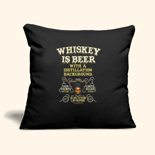 Whiskey Is Beer - Sofakissenbezug 44 x 44 cm